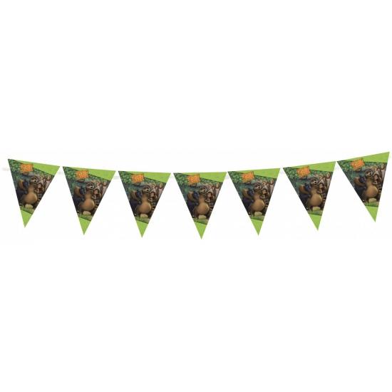 Jungle book vlaggenlijn. deze plastic vlaggenlijn met plaatjes uit de bekende disney film: jungle book heeft ...