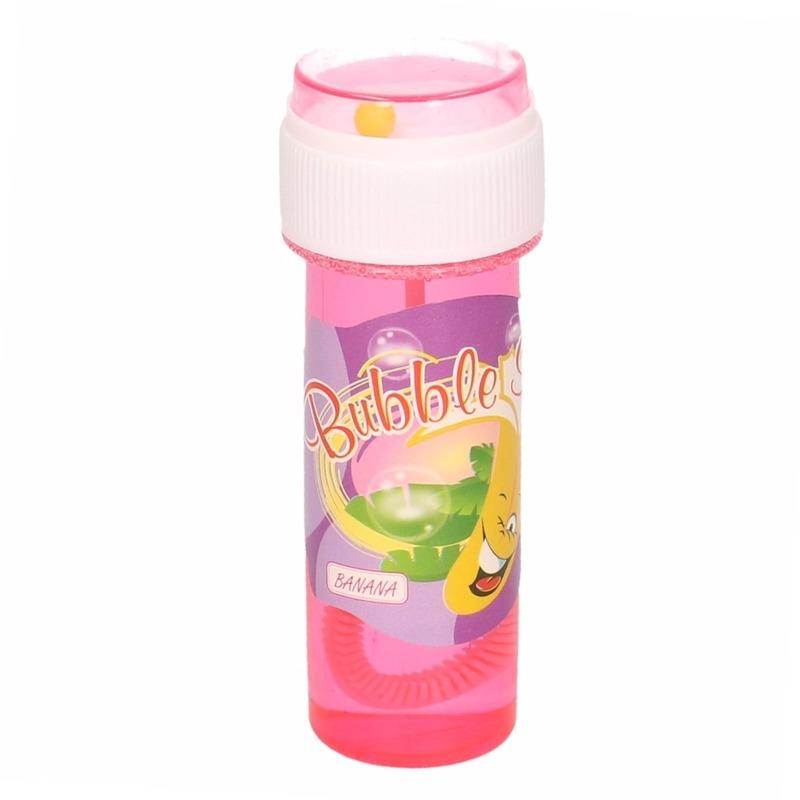 1x Bellenblaas met bananengeur 60 ml speelgoed voor kinderen