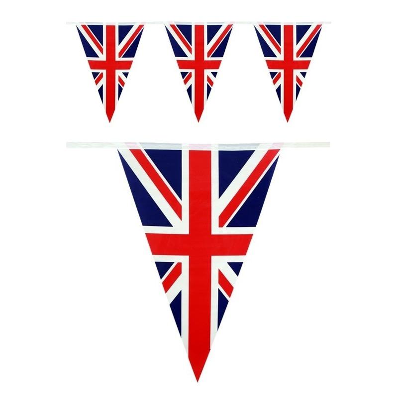 2x Engelse vlaggenlijnen 10 meter