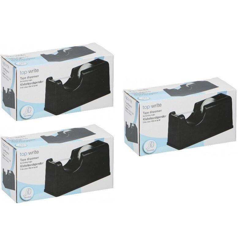 3x Plakband dispensers incl. tape