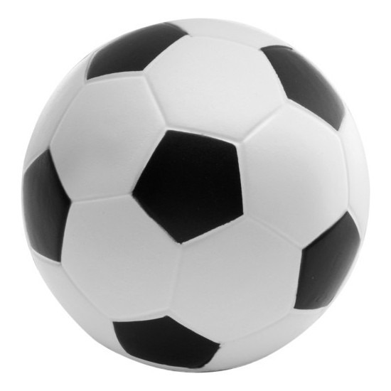 Anti-stressbal voetbal 6,1 cm