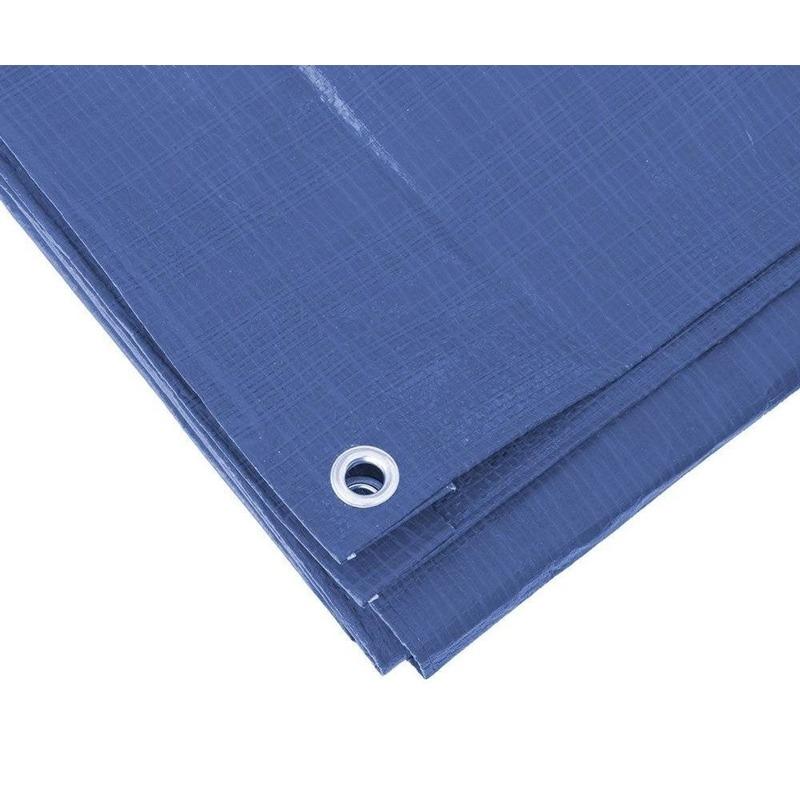 Blauw afdekzeil-dekzeil 2 x 3 meter