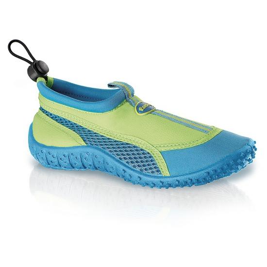 Blauw-groene waterschoenen voor kinderen