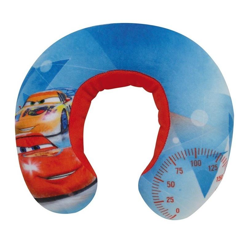 Blauwe Cars Disney nekkussen-reiskussen voor jongens