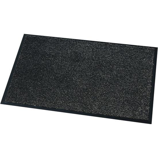 Deurmat-droogloopmat Moorea antraciet grijs 40 x 60 cm