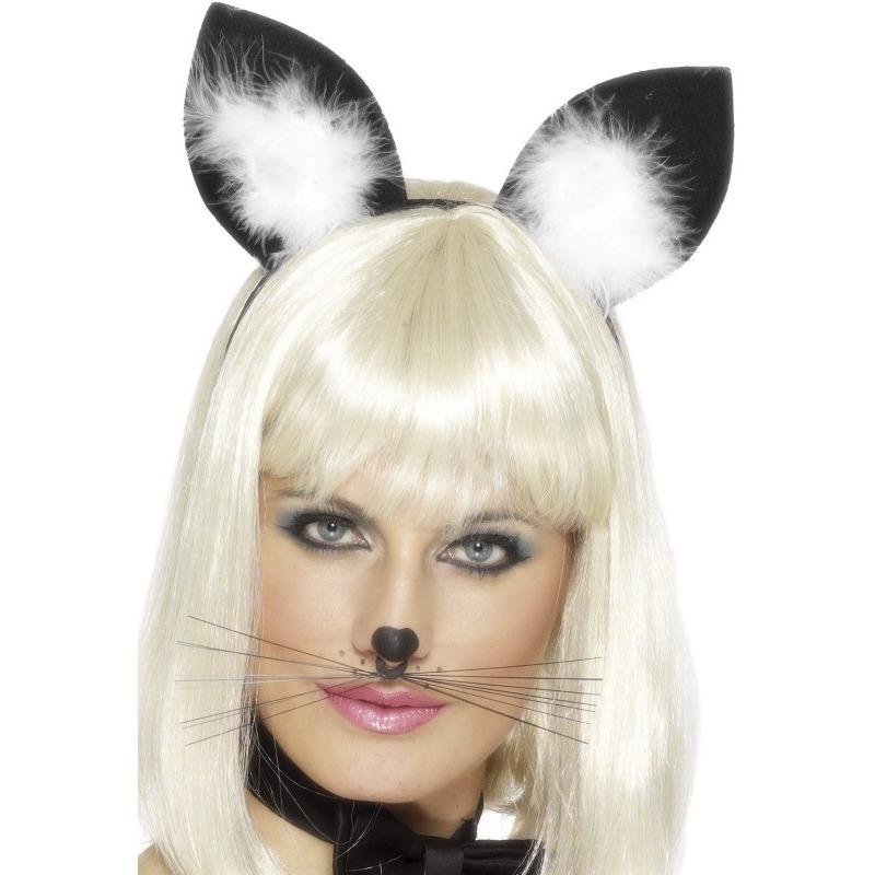 Diadeem met katten-poezen oren voor dames