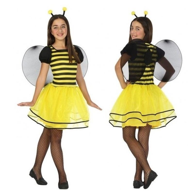 Dierenpak bij-bijen verkleed jurk-jurkje voor meisjes