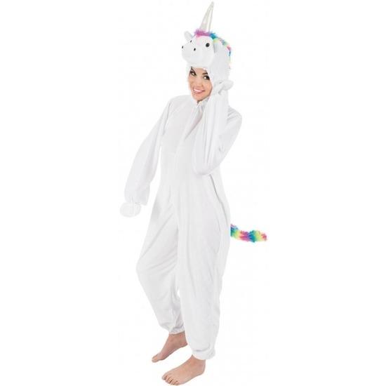 Dierenpak eenhoorn Rainy onesie verkleed kostuum voor dames