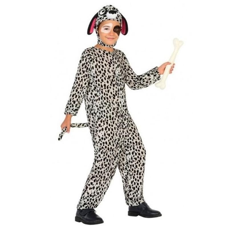Dierenpak hond-honden verkleed kostuum Dalmatier voor kinderen