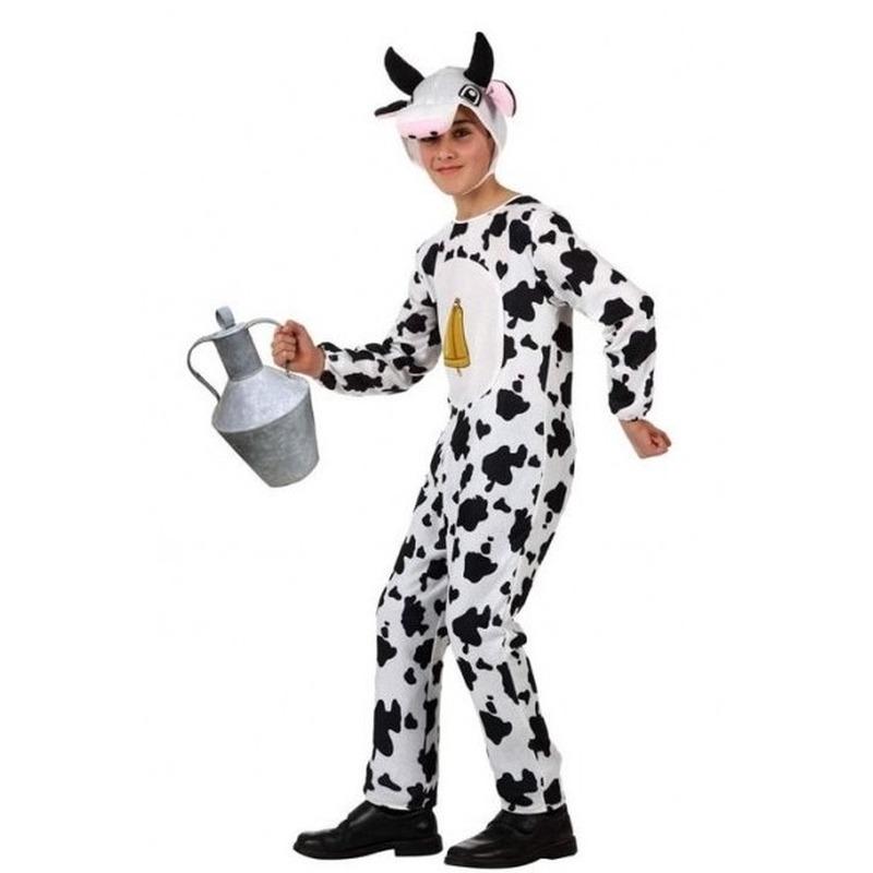 Dierenpak koe-koeien verkleed kostuum voor kinderen