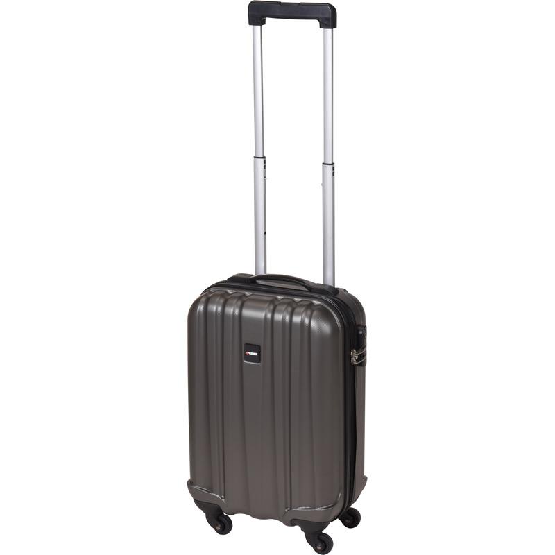 Donkergrijze handbagage trolley 45 cm