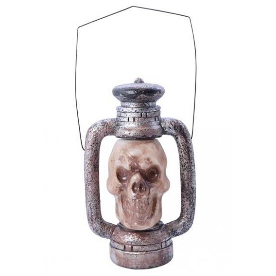 Doodshoofd lantaarn met LED verlichting