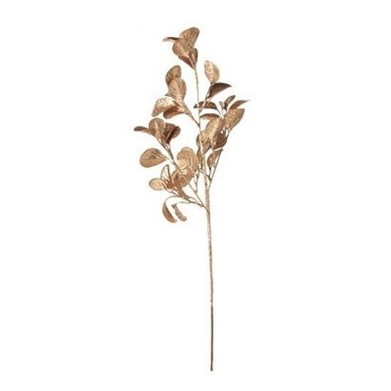Eucalyptus roze glitter kunstbloemen kunsttak 61 cm
