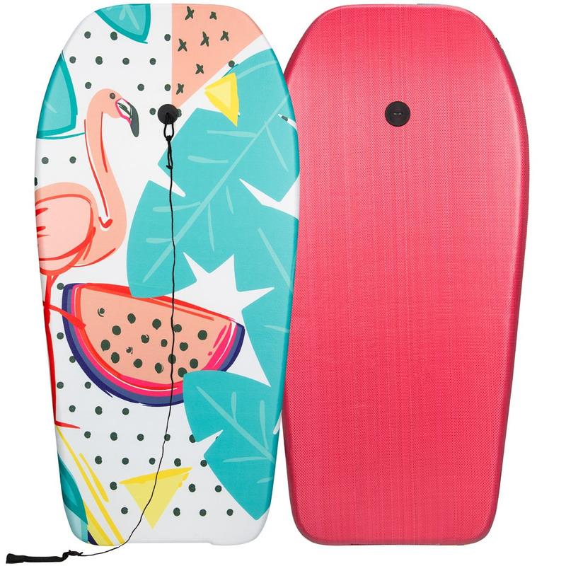 Flamingo strand bodyboard 93 cm speelgoed