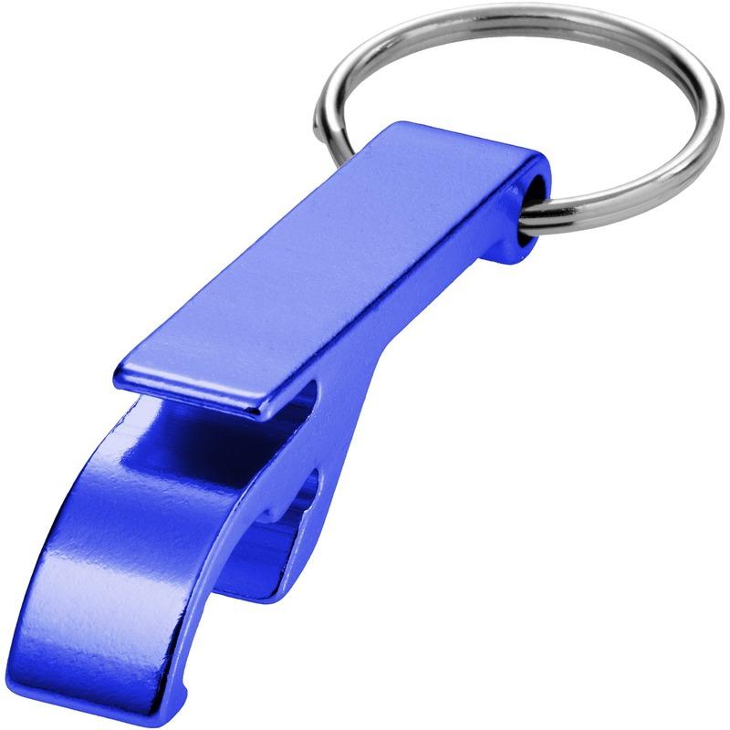 Flesopener sleutelhanger blauw
