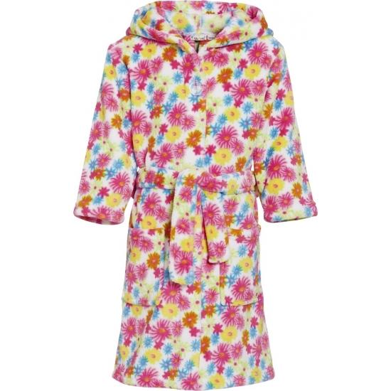 Gebloemde badjas-ochtendjas met fleurige print voor kinderen