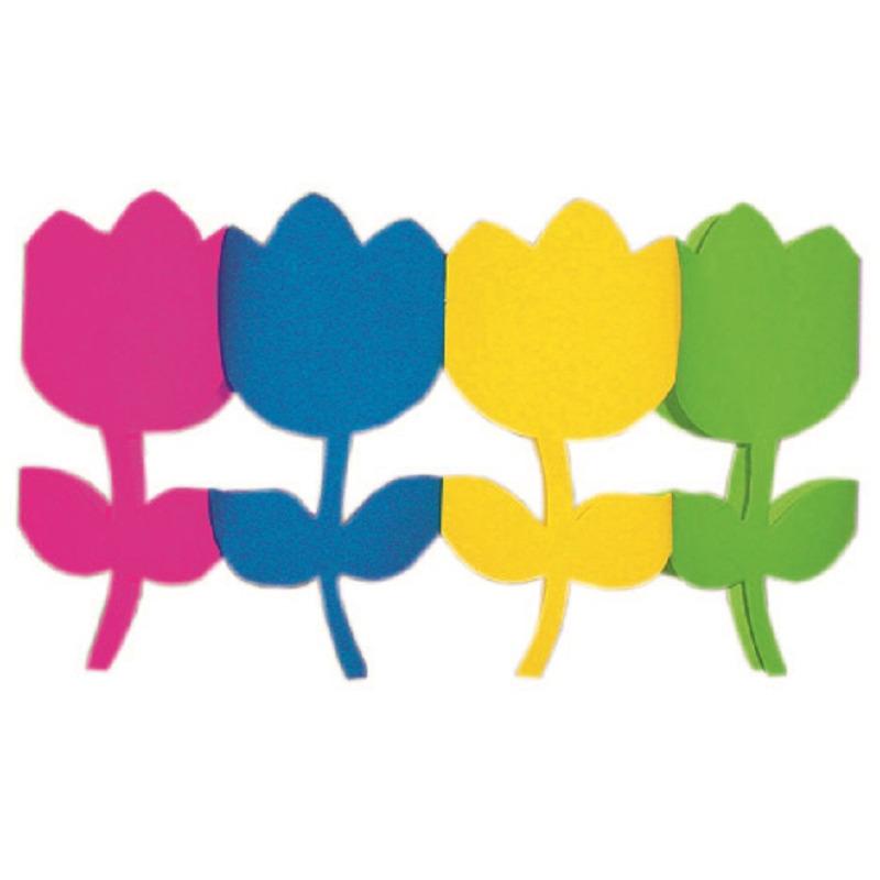 Gekleurde bloem slinger