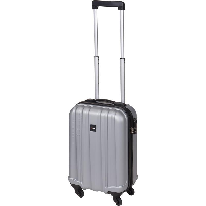 Grijze handbagage trolley 45 cm