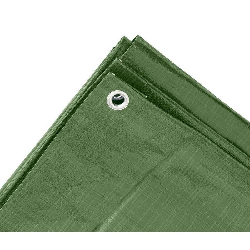Groen afdekzeil-dekzeil 4 x 5 meter