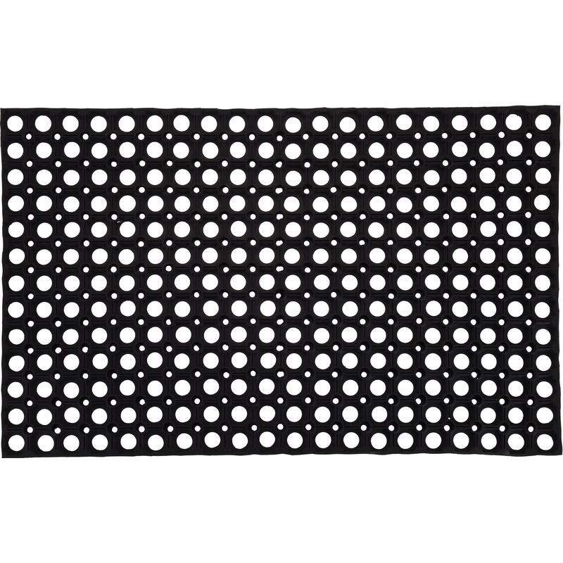 Grote rubberen deurmat-buitenmat 50 x 80 cm