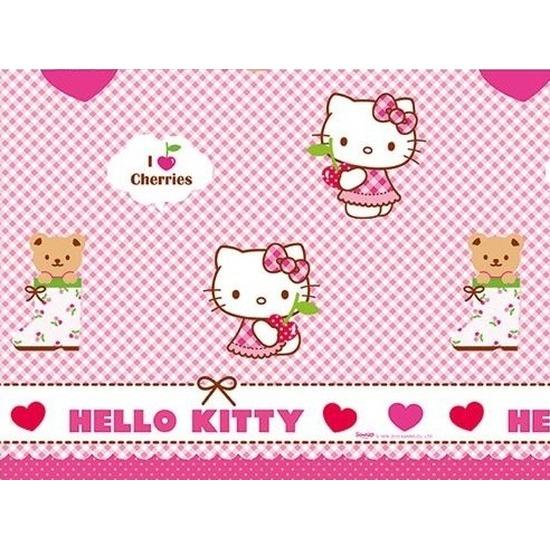 Hello Kitty themafeest tafelkleed 120x180 cm