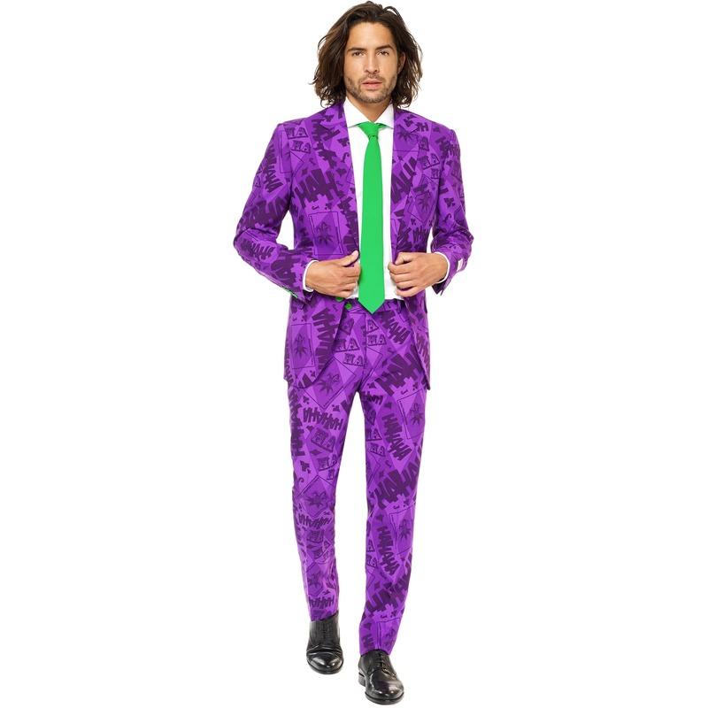 Heren verkleed pak-kostuum The Joker uit Batman