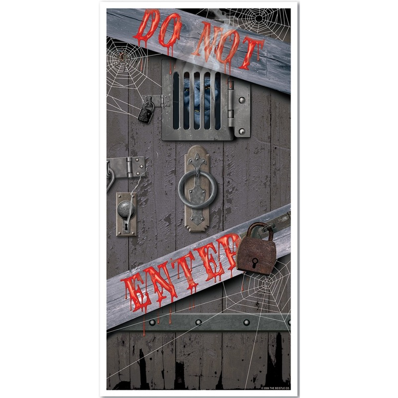 Horror deur scenesetter-deurposter Halloween 76 x 152 cm