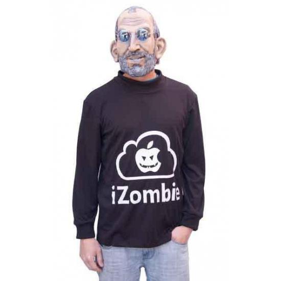 I Zombie apple kostuum met masker