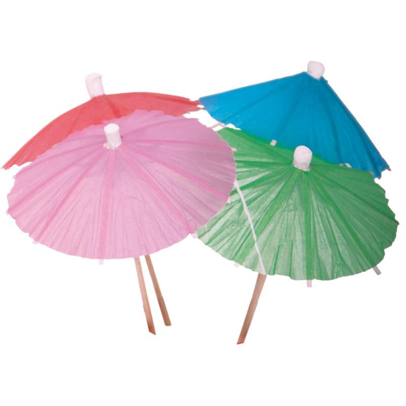 IJs parasols gekleurd 15 stuks