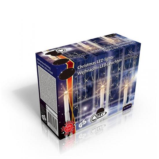 Ijspegel verlichting warm wit buiten 160 lampjes