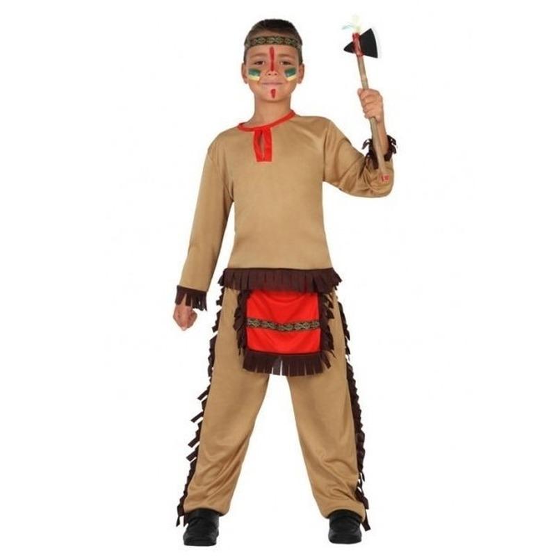 Indiaan-Indianen pak-verkleed kostuum voor jongens