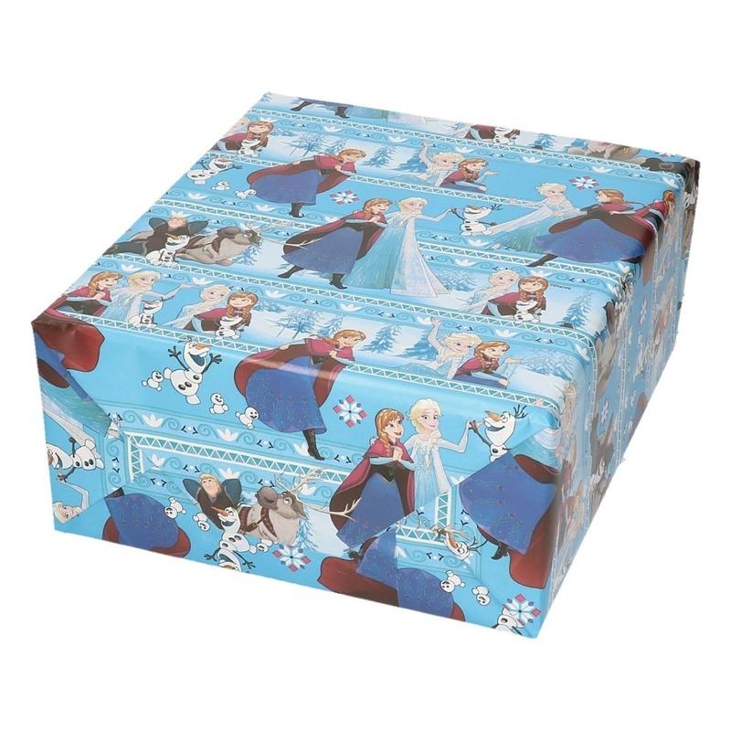 Inpakpapier-cadeaupapier Disney Frozen Elsa en Anna 200 x 70 cm
