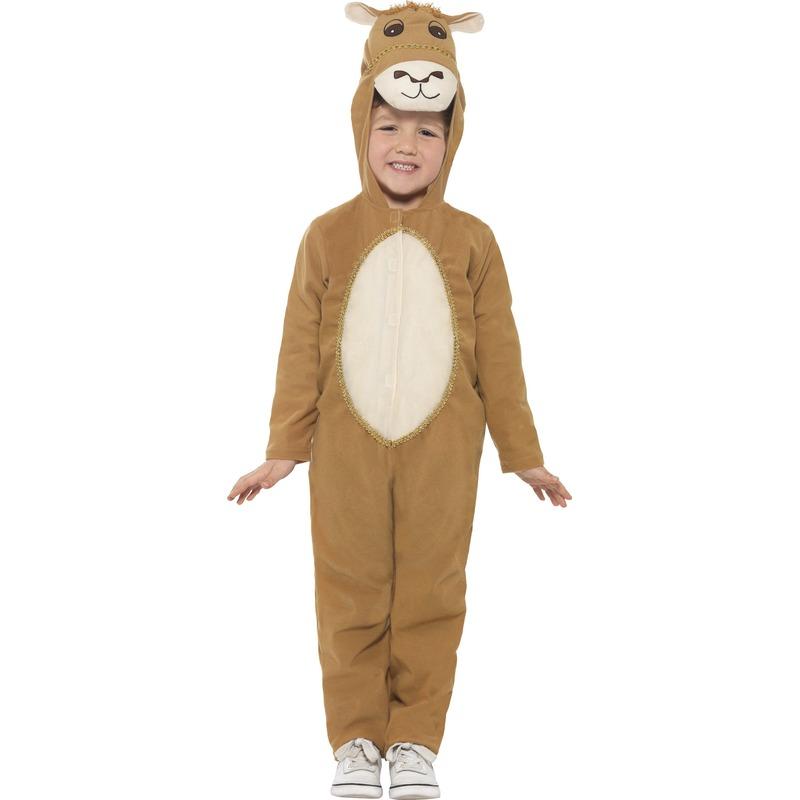 Kameel dierenpak verkleedkostuum voor kinderen