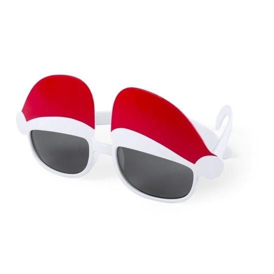 Kerst thema zonnebrillen-feestbrillen met kerstmutsen