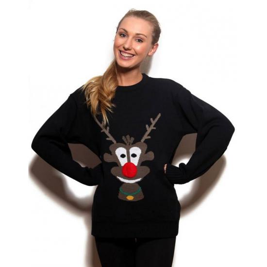 Kersttrui Dames Grote Maten.Kersttrui Rudolph 3d Grote Maten Winkel