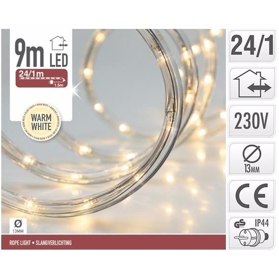 Kerstverlichting lichtslang warm wit buiten 9 meter