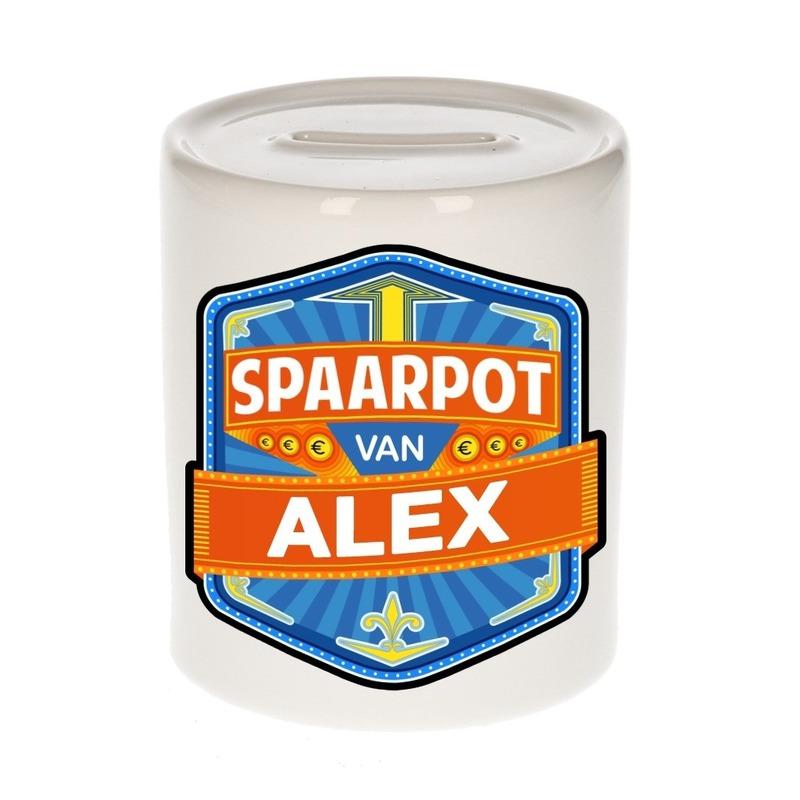 Kinder spaarpot voor Alex