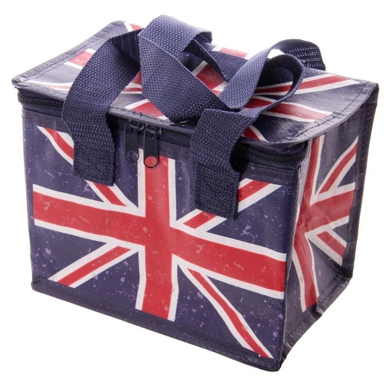 Kleine koeltas Union Jack-United Kingdom print voor 6-sixpack
