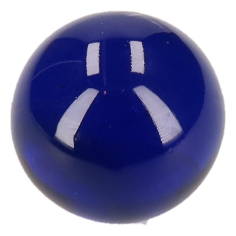 Knikker donkerblauw 6 cm