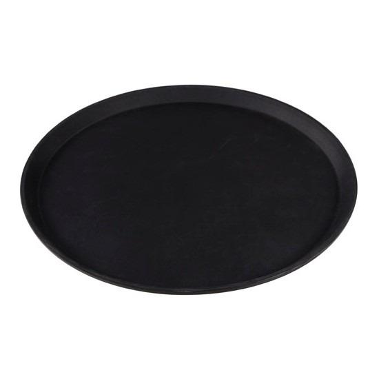 Kunststof dienblad rond met antislip 40,5 cm