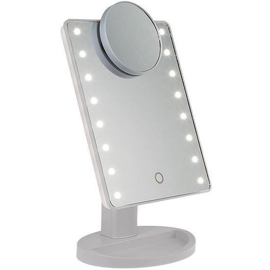 LED make-up spiegel met vergrootspiegel
