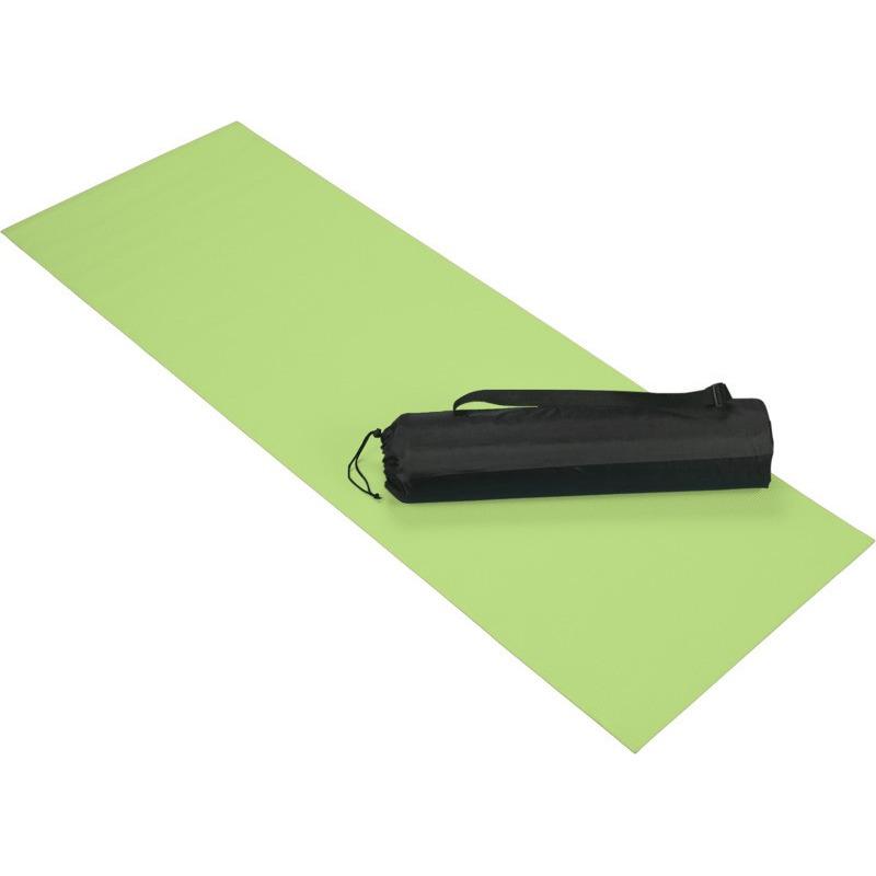 Lime groene yoga-fitness mat 60 x 170 cm