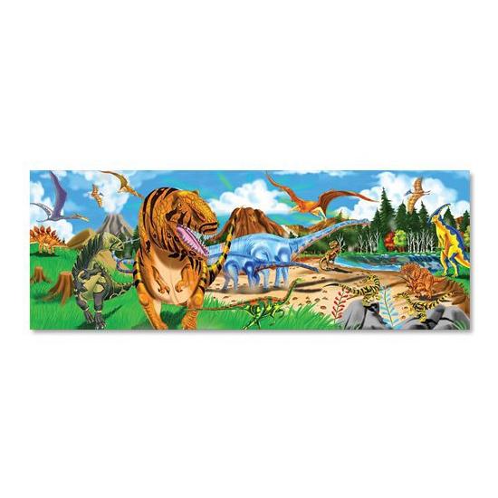 Mega puzzel dinosaurus 48 stukjes