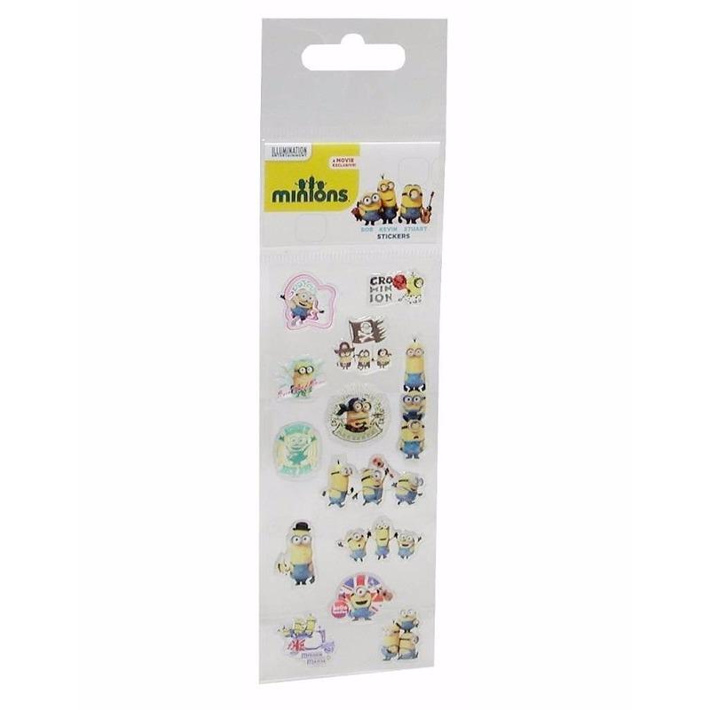 Minions stickers 13 stuks