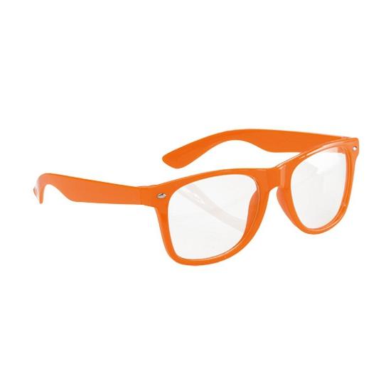 Neon oranje zonnebrillen
