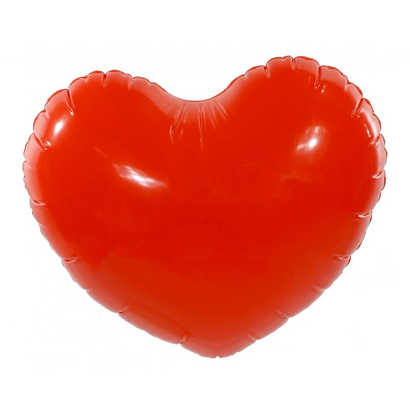 Opblaasbaar hart 45 cm