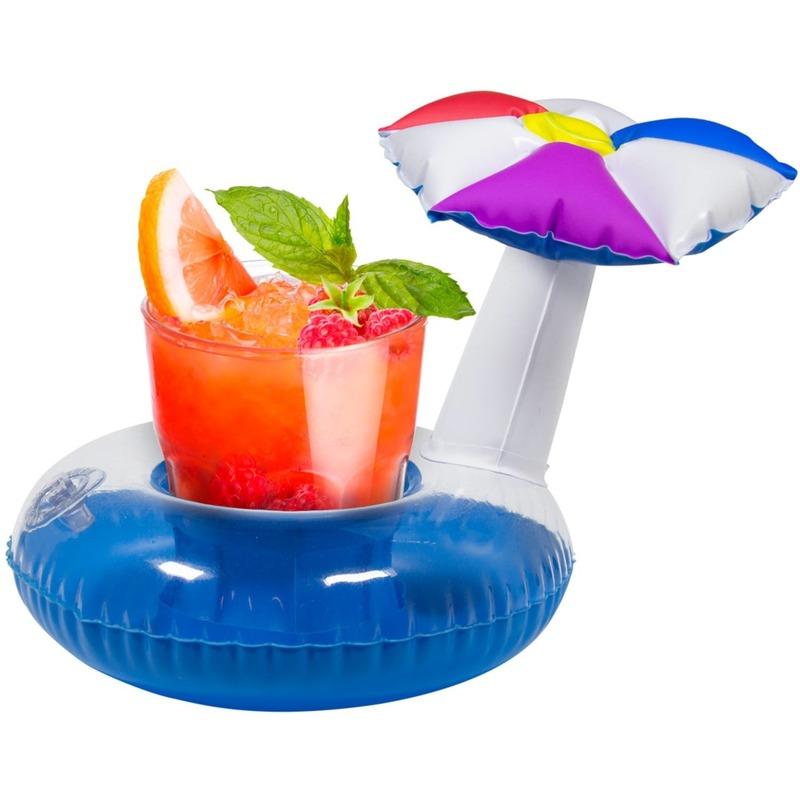 Opblaasbare drankhouder parasol 22 cm