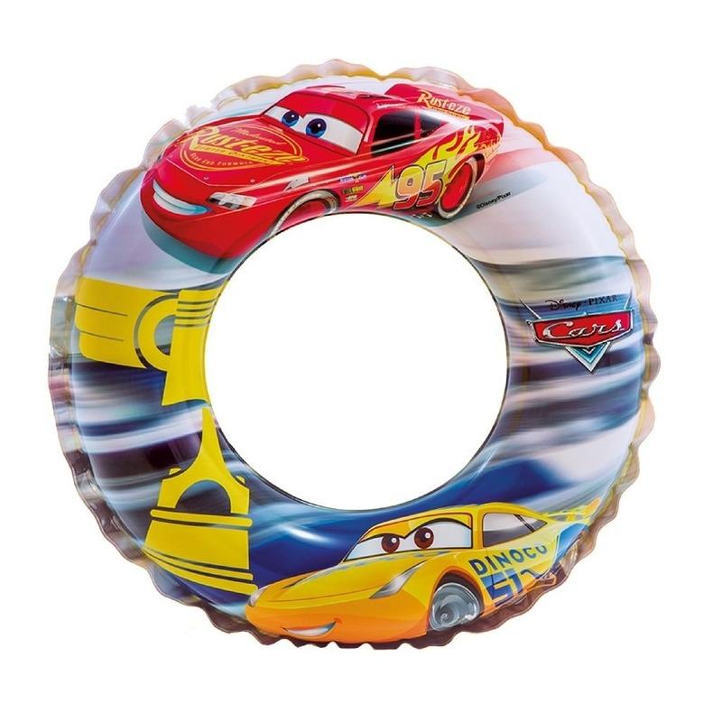 Opblaasbare Pixar Cars zwemband-zwemring 51 cm