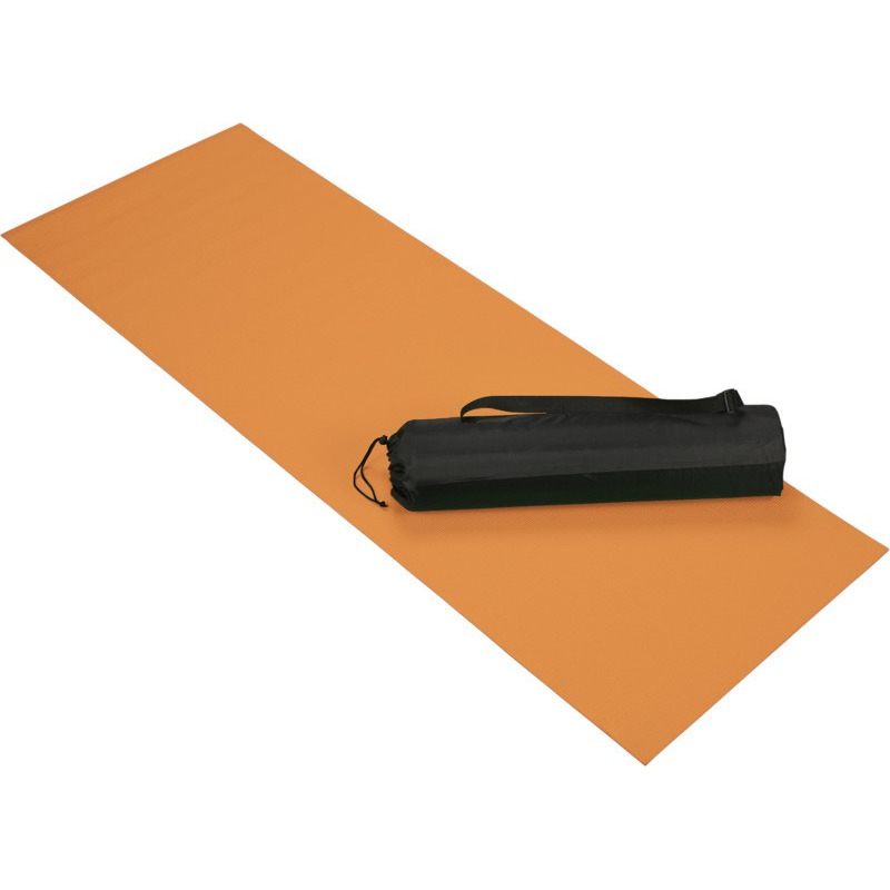 Oranje yoga-fitness mat 60 x 170 cm
