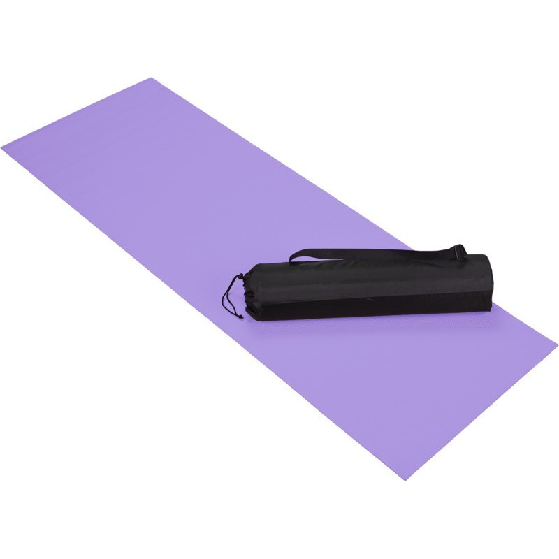 Paarse yoga-fitness mat 60 x 170 cm